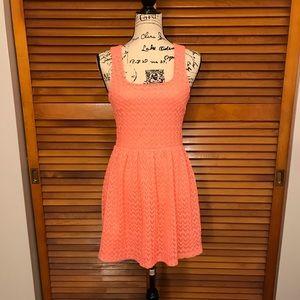 Mini Crochet Dress